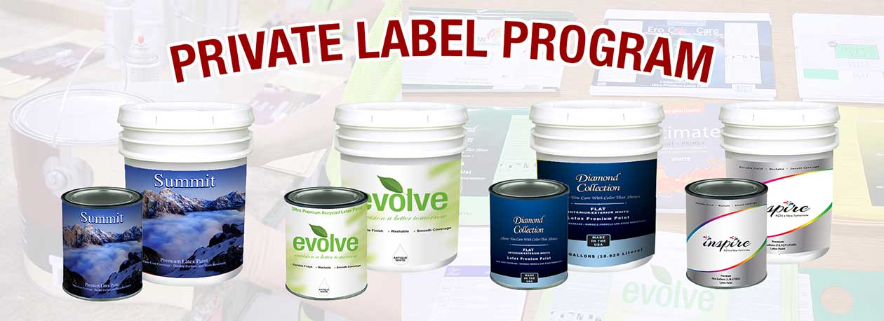 Paint Private Label - Start Your Paint Brand